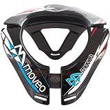 Moveo Concept - Collarín cervical de ciclismo, color negro, talla 590gr