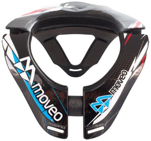 Moveo Concept–Collare cervicale di ciclismo, 590g, Unisex adulto, nero, 590gr