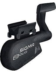 Sigma Sport R2Combo Duo Geschwindigkeit und die Trittfrequenzerweiterung, Unisex Erwachsene, schwarz, Einheitsgröße