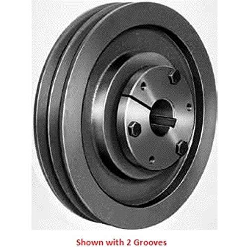 Browning 6B38SD Q-D Schere, Gusseisen, 6 Rillen, A oder B Gürtel, Q - D Sheave, mit SD-Buchse -