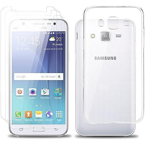 Samsung galaxy J5 Screen Protector Set, EnGive trasparente di TPU