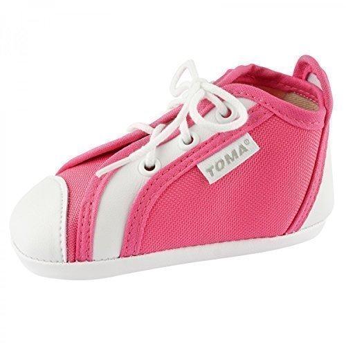 TOMA Baby Krabbelschuhe Babyschuhe Junge M盲dchen BS207 Pink