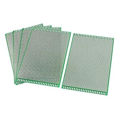 REES52 5Pcs DIY Universal Double Sided PCB Printed Circuit Board 12cm x 18cm