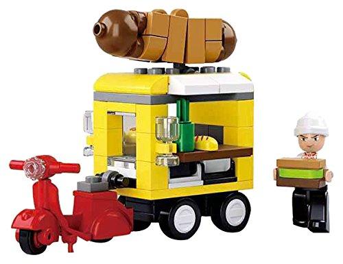 Sluban Spielzeug Baustein Set Hot Dog Wagen M38-B0565