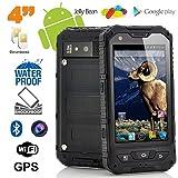 Smartphone antichoc 4 pouces waterproof Android 4.2 téléphone étanche