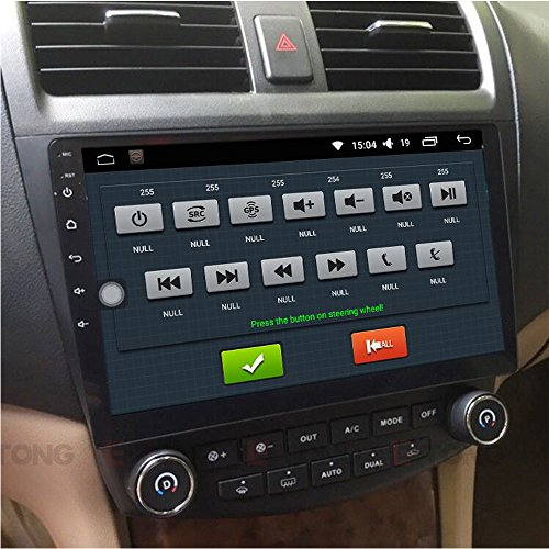 Accord Honda Navigation Dvd (E-TONG 10.1 inch Android 5.1 Quad Core Car DVD Radio Player GPS Navigation Tourist Suppot Rear Camera OBD Bluetooth 3G WIFI DVR Mirror Link for Honda Accord 7 2003 2004 2005 2006 2007)