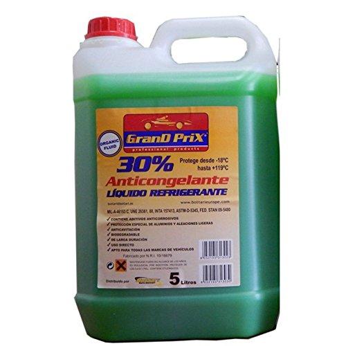 Frostschutzmittel öl, (euro-bottari 2002. 31303e KFZ Frostschutzmittel Refr. 5lt 30% -18ñ Ver 5lt Bottari)