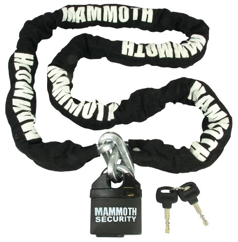 Price comparison product image MAMMOTH LOCK & CHAIN 10X10X1800MM CHAIN / CLOSED SHACKLE LOCK