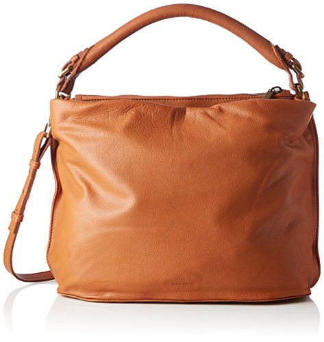 Marc O'Polo Damen Eight Schultertasche, Braun (Cognac), 20x50x50 cm
