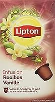 Lipton Infusion Rooibos Vanille 10 Capsules Compatibles Nespresso 30 g - Lot de 4