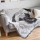 AFAHXX Sofa Decke Sofa Abdeckung Dekoration Verdickt Sofabezug für Sofa Decke zu Werfen Quaste Sofa Couch Stuhl möbel Weich Sofa Überwürfe-A 160x220cm(63x87inch)