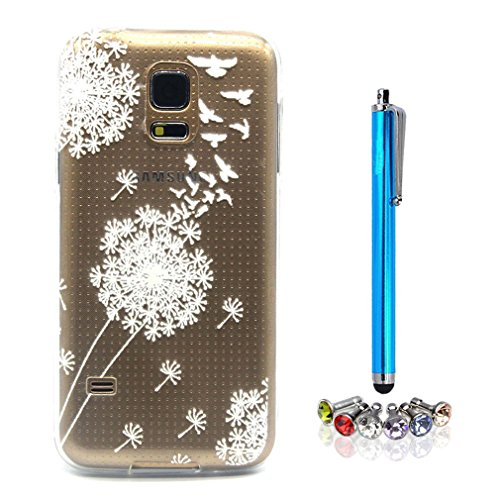 A9H iPhone 5 5S SE Hülle Case Cover Painting TPU Crystal Clear Tasche Handyhülle Schutzhülle 01HUA 23HUA