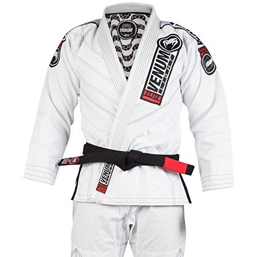Venum elite light 2.0, kimono bjj uomo, bianco, a3