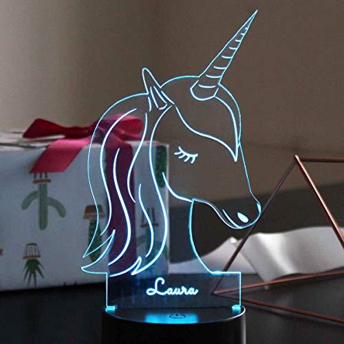 Romantische LED-Lampen Einhorn