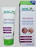 Vein Vanish - Herbal Skin Doctor - 100ml X-Large Tube - The Professional Formula That Dramatically Diminishes The Appearance of Spider Veins, Broken Capillaries & Bruising Painlessly in Weeks!