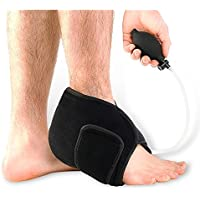 HC Handel 936107 Compression Foot Bandage with Hand Pump – 3-Way Therapy: Cold, Heat and Support