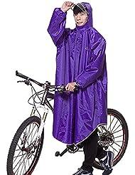 Icegrey Adultos Ligero Poncho Chubasquero Para Bicicleta Ciclismo PVC Acampada y Marcha Chubasquero Con Maniche