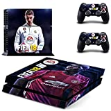 Elton fifa - 18 Theme 3M Skin Sticker Cover for PS4 Console and Controllers