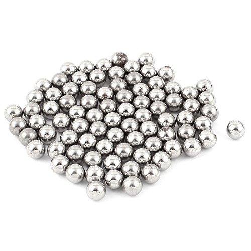 sourcingmap® Rodamiento de bolas de acero 80 piezas de moto de carbono...