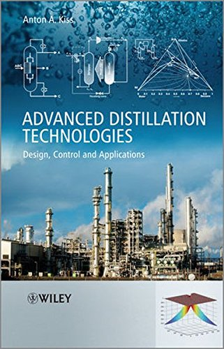 Advanced Distillation Technologies: Design, Control and Applications
