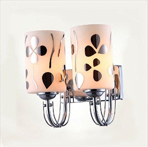 LIYAN minimalistische Wandleuchte Wandleuchte E26 /E27 Das Schlafzimmer Bett home Glas Wandleuchten LED off road Single Head stud Wall (29 AA) -