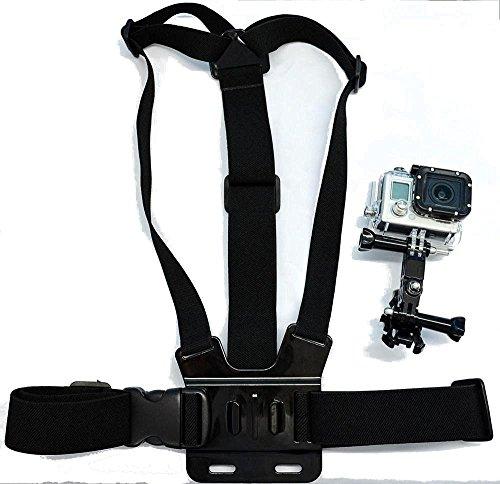 Preisvergleich Produktbild Navitech Brustgürtel / Kamerakörperhalterung für WONNIE Wifi Sport Camera 1080P 16 MP HDAction Camera