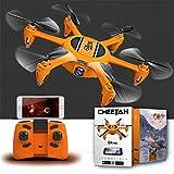 LECC Drone con Fotocamera a Sei Assi Aereo WiFi Trasmissione Altezza 360 Flip...