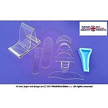 Fondant alta Talón Zapato de | Kit | polímero transparente | 10piezas | decoración de pasteles Toppers | entrega gratuita | decoración de pasteles y tartas Craft herramienta