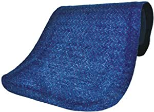 """Andersen 446 Navy Spice Nylon Hog Heaven Plush Anti-Fatigue Mat, 3' Length x 2' Width x 5/8"""" Thick, For Indoor by Andersen"""