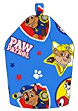 Paw Patrol Forever Chase/Marshall and Rubble Bean Bag, Fabric, Blue, 52 x 38 x 52 cm