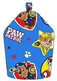 Paw Patrol Forever Chase/Marshall und Schutt Maschinenwaschbar Sitzsack, Stoff, Blau, 52x 38x 52cm