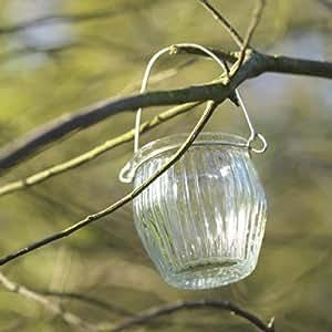 Curved Hanging Jar T-light holders