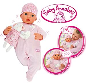 Baby Annabell - 1769 - Jeu Electronique - Baby Annabell Fille - 46B cm