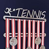 Medallero de tenis Doble - acero inoxidable