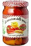 Le Conserve della Nonna Peperoni Grigliati Solo con Ingredienti di Origine Naturale - 270 gr