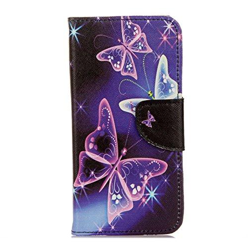 95Street Xiaomi Redmi 4A Handyhülle Book Case Xiaomi Redmi 4A Hülle Klapphülle Tasche im Retro Wallet Design mit Praktischer Aufstellfunktion