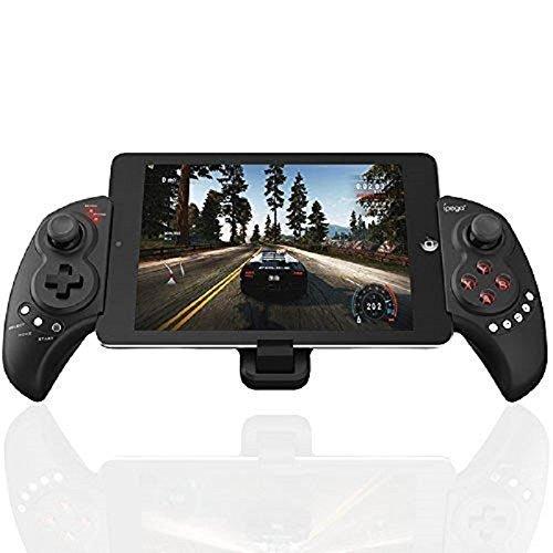 Bluetooth Controller Stoga PG9023 Wireless Teleskop-Bluetooth-Controller Joystick Gamepad für Android iPad Samsung iOS Tablet PC - Schwarz