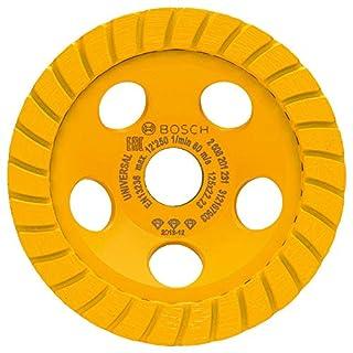 Bosch 2608201231 Diamond-Grinding Wheel, 0 V, Yellow, 125 x 22.23 x 5 mm (B00OQC1H0A)   Amazon price tracker / tracking, Amazon price history charts, Amazon price watches, Amazon price drop alerts