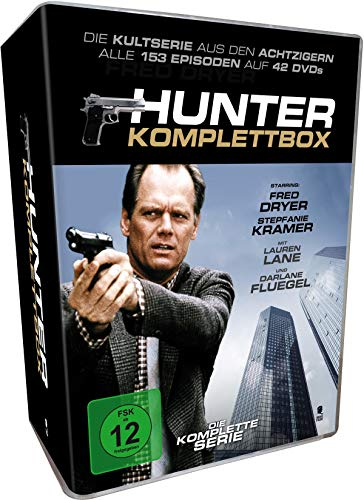 Hunter - Komplettbox (42 DVDs)