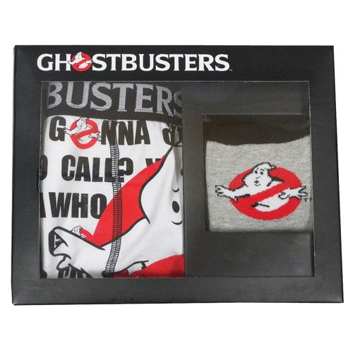 Ghostbusters Boxer Shorts and Socks Gift Set - S, M