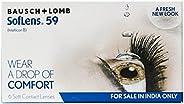 Bausch & Lomb Soflens 59 Contact Lense - 6 Pieces (-2.0)