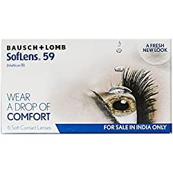 Bausch & Lomb Soflens 59 Contact Lense - 6 Pieces (-2.5)