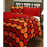 LABNO Traditional Printed Double Cotton Dohar Reversible Printed Dohar/AC Blanket, Standard Double Bed (Multicolour)