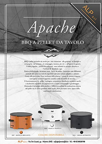 Zoom IMG-3 apache barbecue grill a pellet