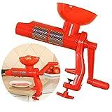 JUSTDOLIFE Colino di Pomodoro Manuale Creativo Fai da Te Pressa di Pomodori per La Cucina Domestica
