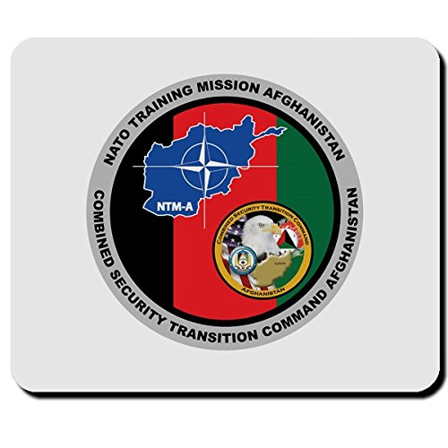 Nato Training Misson Afghanistan Combined Security Transition Command - Mauspad Mousepad Computer Laptop PC #7874 (Training Uniform)