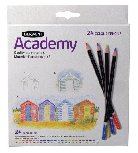 Derwent Academy - Lápices colores 24 unidades [Importado]