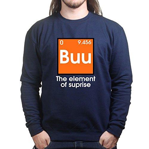 Mens Buu Boo Halloween Funny Costume Sweatshirt S Navy Blue
