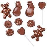 Melissa Schokoladen-Fondue elektrisch, Chocolatier Set für hausgemachte Pralinen -