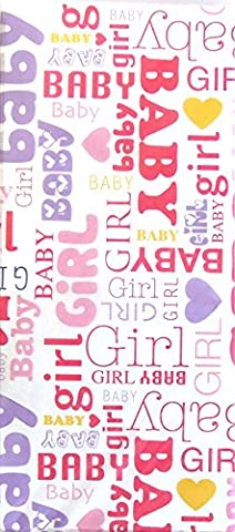 Baby Girl Printed Tissue Paper - 6